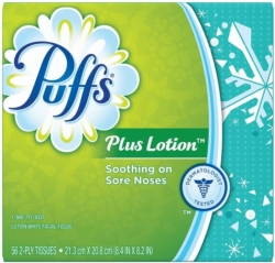 Procter and Gamble 34864 Puffs Plus Facial Tissue
