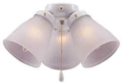 Boston Harbor CF-3FLK-WH Ceiling Fan Light Kit