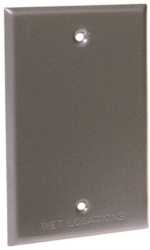Hubbell 5173-5 Blank Weatherproof Cover