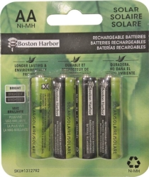 Boston Harbor BT-NMAA-1500-D4 Replacement Ni-Mh Solar Battery