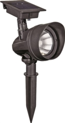 Boston Harbor SS3P-P2-BK-1 Outdoor Solar Floodlight