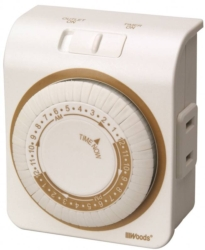Woods 50000 Indoor Mechanical Timer