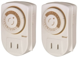 Woods 50006 Combination Indoor Mechanical Timer