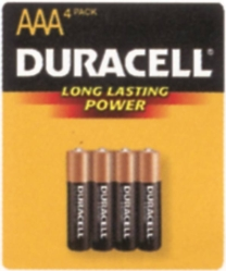 Coppertop MN2400B4Z AAA Alkaline Battery