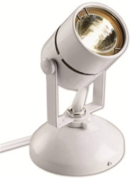 Good Earth G19920-WH-I Micro Undercabinet Spotlight