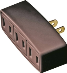Cooper 1747B-BOX Outlet Tap/Adapter