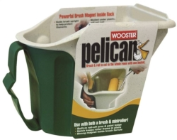 Pelican 8619 Square Handheld Pail With Brush and Miniroller