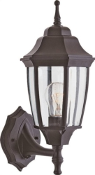 Boston Harbor BRT-BPP1611-BK Lantern Outdoor Porch Light Fixture