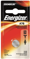 Zero-Mercury A76 Miniature Alkaline Battery