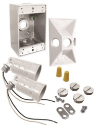 Bell Weatherproof 5818-6 Floodlight Kits