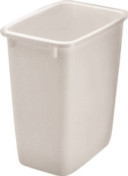 Rubbermaid 2806TPWHT Rectangular Waste Basket
