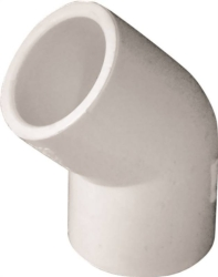 Genova Products 30605 PVC 45 Degree Elbow