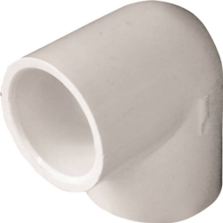Genova Products 30707 PVC 90 Degree Elbow