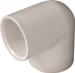 Genova Products 30710 PVC 90 Degree Elbow
