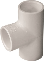 Genova Products 31405 PVC Tee