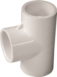 Genova Products 31407 PVC Tee