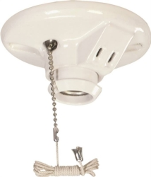 Arrow Hart 669-SP Lampholder with 2 Wire Outlet
