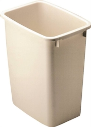 Rubbermaid FG280500BISQU Waste Basket