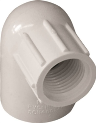 Genova Products 34175 PVC 90 Degree Elbow