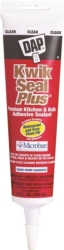 Dap 18546 Kwik Seal Plus Kitchen/Bath Adhesive Caulk