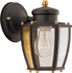 Boston Harbor HV-66961-BK Lantern Porch Light Fixture