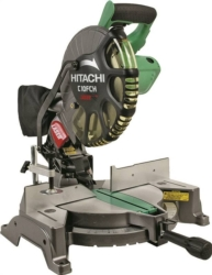 Hitachi C10FCH2 Sliding Compound Corded Miter Saw with Laser Marker