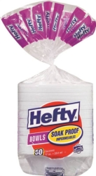 Hefty 00D25012 Soak Proof Bowl