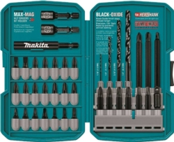 Makita T-01373 Quad Drill/Driver Bit Set