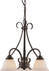 Boston Harbor F3-3C3L Chandelier