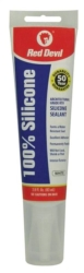 Red Devil 0810 Silicone Sealant