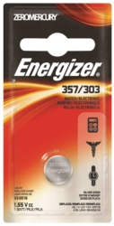 Zero-Mercury 357BPZ Non-Rechargeable Electronic Coin Cell Battery