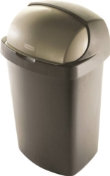 Rubbermaid 4A15 Roll Top Wastebasket