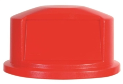 Rubbermaid FG264788RED Brute Refuse Container Lids