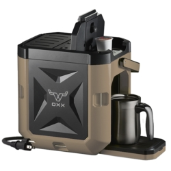 COFFEEBOXX Jobsite Coffee Maker in Desert Tan
