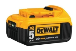 Battery 20volt Max 5ah 1 battery DCB205