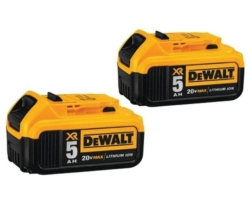 Battery 20volt Max 5ah 2-Pack DCB205-2
