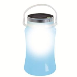 Solar Storage Bottle Blue
