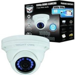 Wrd Security Dome Cam w Audio