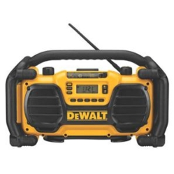 DW Worksite Radio and Charger