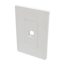 1 Port Wall Plate Keystone