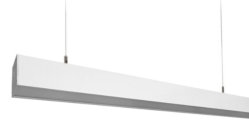 G2 Linear Fixture , 2FT, 20W, 3500K, 2400 lm, Frosted Lens