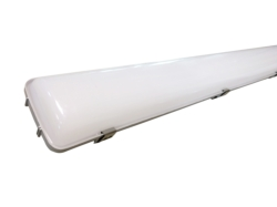 LED Vapor Proof  Fixture , 4ft, 40W, 5000K, 4000 lm, Frosted Lens