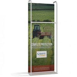 3ft x 8ft Merchandiser Display Black Plate Kit 1 represent the latest developments in the evolution of event and trade show display technology. Merchandiser 8 FT Display is a terrific way to feature merchandise at your tradeshow!