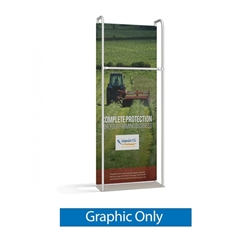 3ft x 8ft Merchandiser Exhibit represent the latest developments in the evolution of event and trade show display technology. Merchandiser 8 FT Display is a terrific way to feature merchandise at your tradeshow!