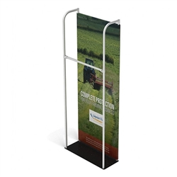 3ft x 10ft Merchandiser Display Black Plate Kit 1 represent the latest developments in the evolution of event and trade show display technology. Merchandiser 8 FT Display is a terrific way to feature merchandise at your tradeshow!
