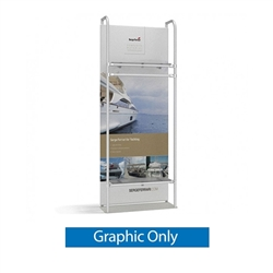 3ft x 10ft Merchandiser Exhibit represent the latest developments in the evolution of event and trade show display technology. Merchandiser 8 FT Display is a terrific way to feature merchandise at your tradeshow!