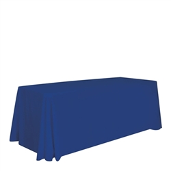 6ft Stylish and elegant, Creative Banners Stain Resistant Standard Throw Unimprinted professionally present your company image at events and trade shows. These premium quality polyester twill table throws are easy to care for and can be easily washe