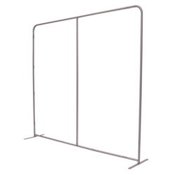 8ft Eurofit BackWall Straight Floor Tension Fabric Exhibit will command attention at any trade show or event. Tension fabric displays are easily transported, and are known for their easy assembly, light weight and affordable replacement graphics.