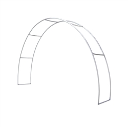 20ft Eurofit Arch Shape Tension Fabric Booth Display Hardware Only will command attention at any trade show or event. Tension fabric displays are easily transported, and are known for their easy assembly, light weight and affordable replacement graphics.