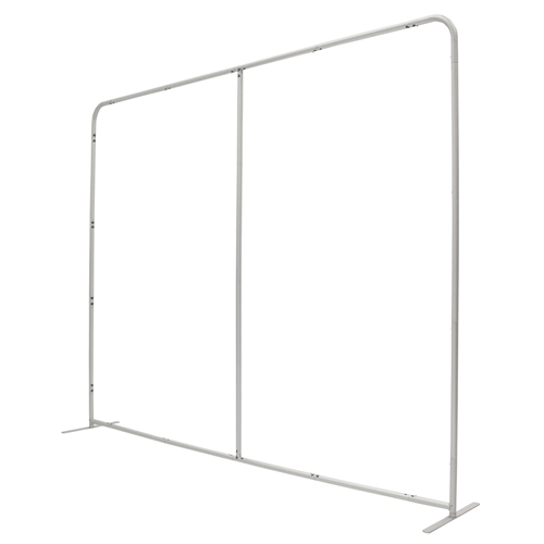10ft x 90in EuroFit Wall Floor Tension Fabric Display Hardware Only. These double-sided backdrops weighs 75% less than a standard pop-up display. Tension fabric displays are easily transported, and are known for their easy assembly, light weight and affor
